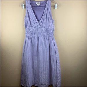 • Converse One Star • Lavender Pin Stripe Dress